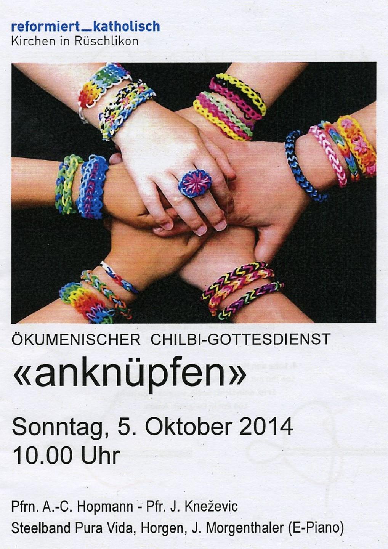 20141005 5.10.14: Ökumenischer Chilbi-Gottesdienst Rüschlikon